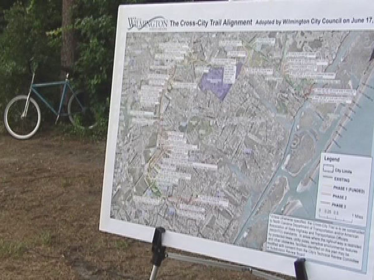 Wilmington finishes the construction of the Cross-City Trail