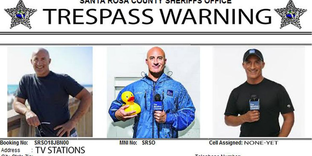 Hurricane Michael: FL county issues friendly trespass warning for weatherman Jim Cantore