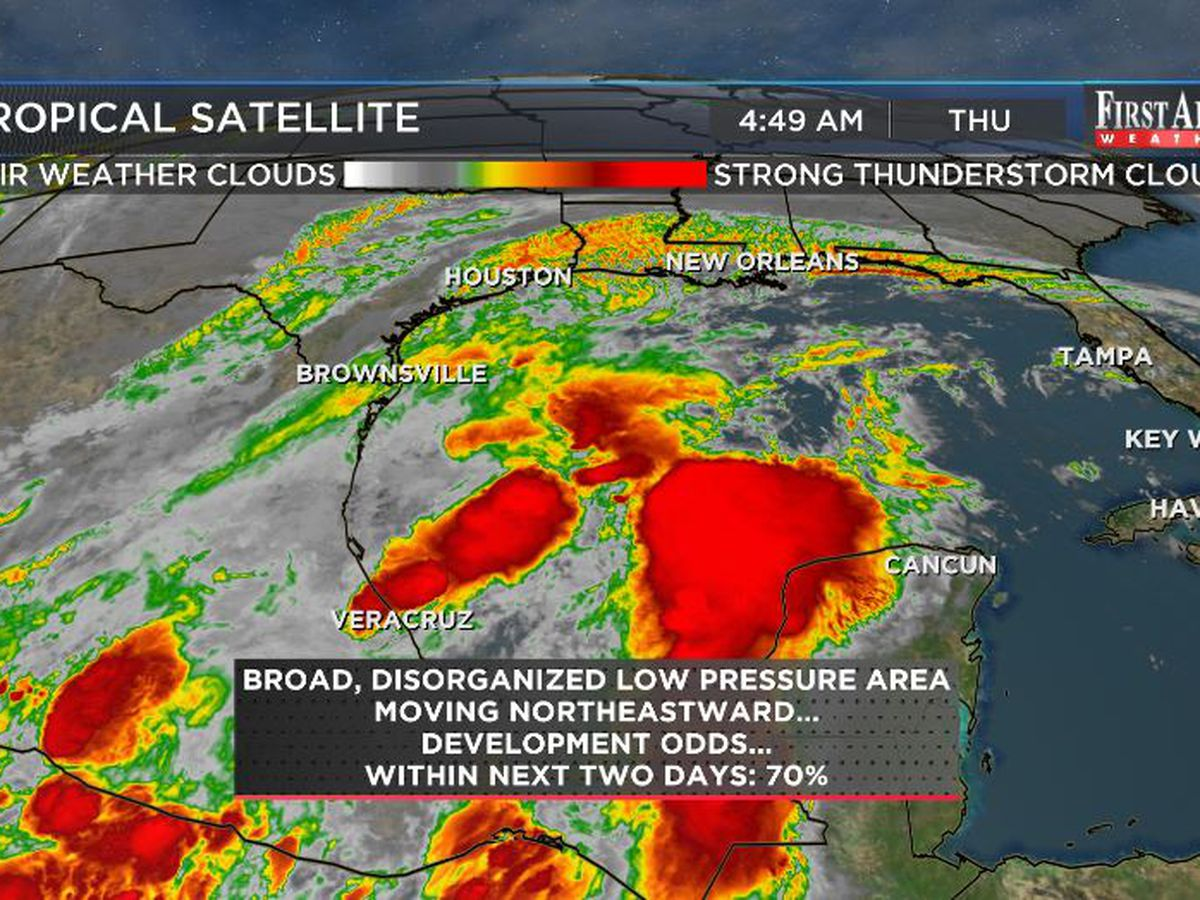 """First Alert Forecast: """"chili weather"""" now, next storm may have tropical connection"""