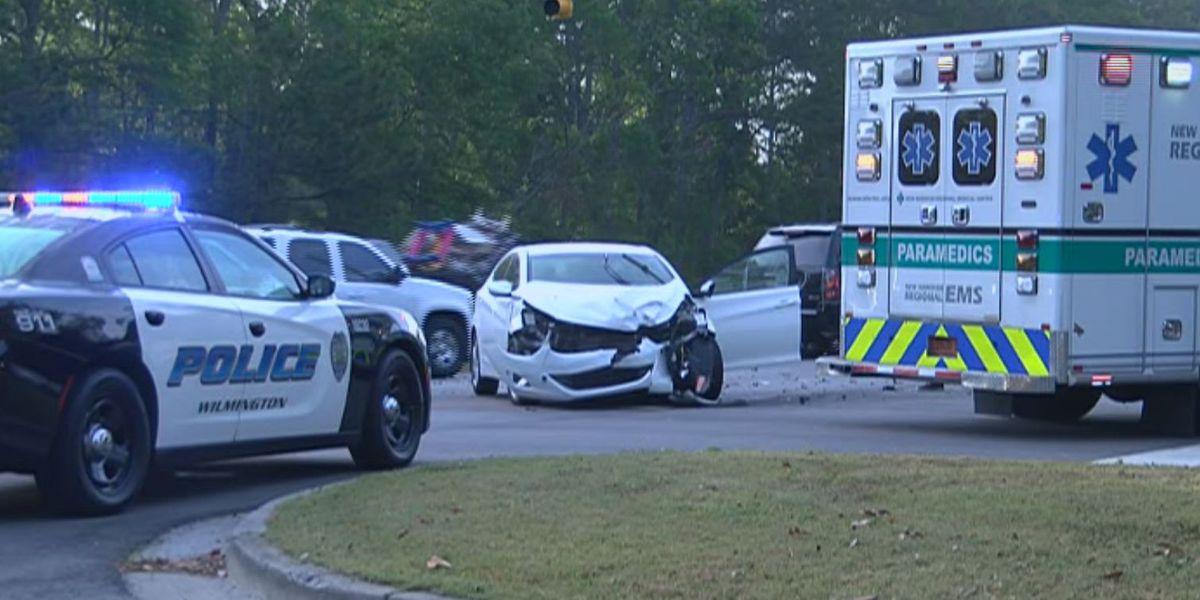 TRAFFIC ALERT: Wreck on Carolina Beach Road causes backup near Codington Elementary