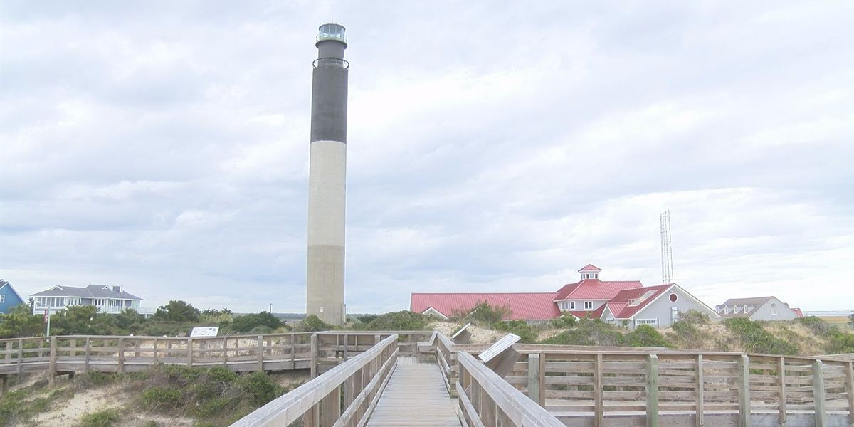 UPDATE: New LED-based rotating beacon lit at Oak Island Lighthouse, Monday