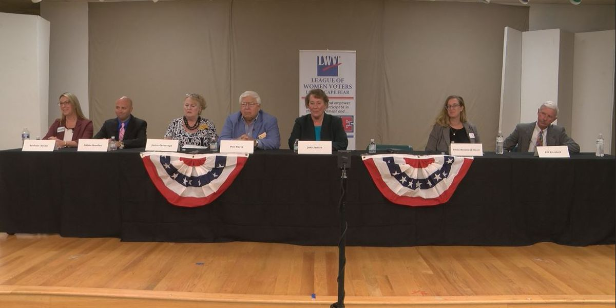 Redistricting, school safety, funding are top issues at school board candidates' forum
