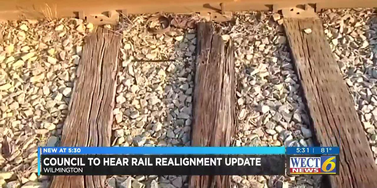 Wilmington City Council to hear updates on rail realignment, soccerplex at meeting Tuesday