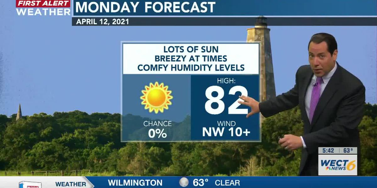 Your First Alert Forecast from Mon. morning, Apr. 12, 2021