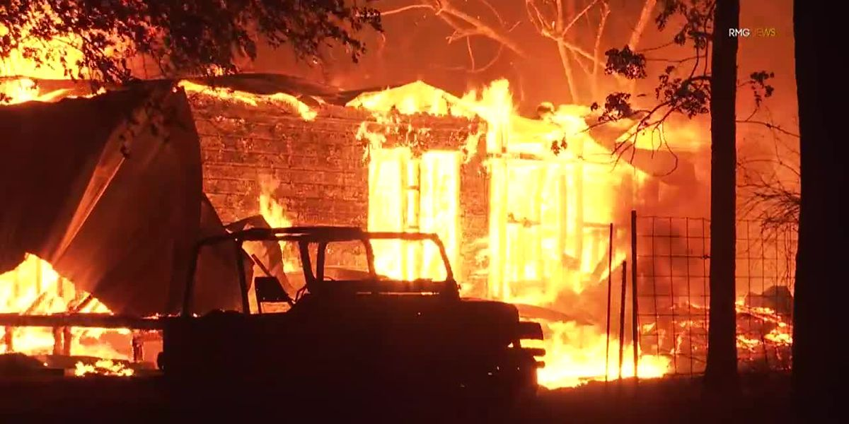 California's Zogg fire burns structures