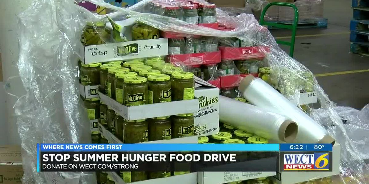 WECT hosts Stop Summer Hunger virtual food drive