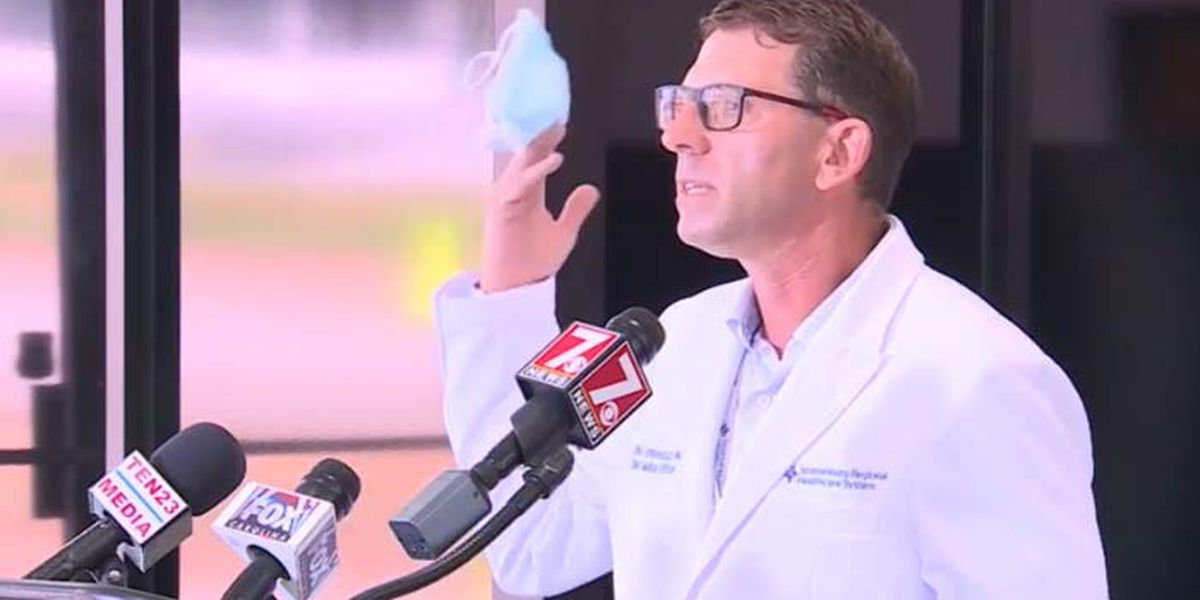 'Put the damn mask on': Strong message from SC hospital chief medical officer