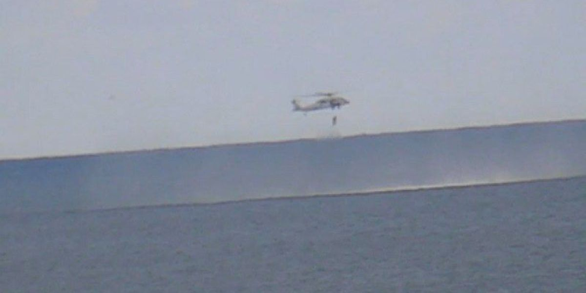 Military pilot released from hospital after jet crash off Wrightsville Beach