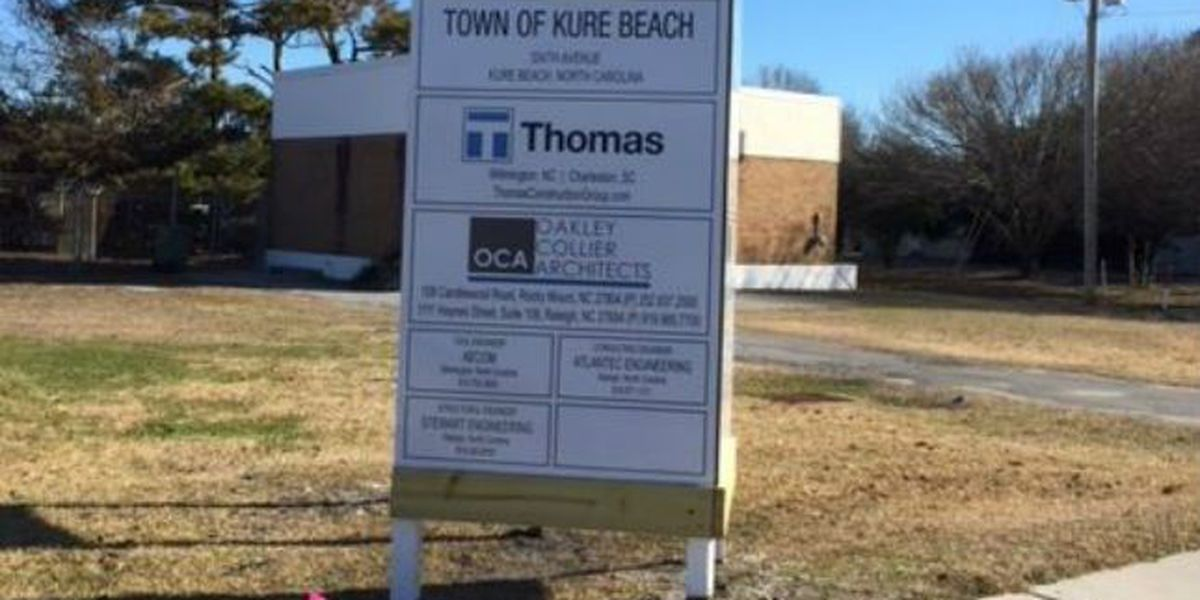 Plans in place for Kure Beach Town Hall expansion, new fire station