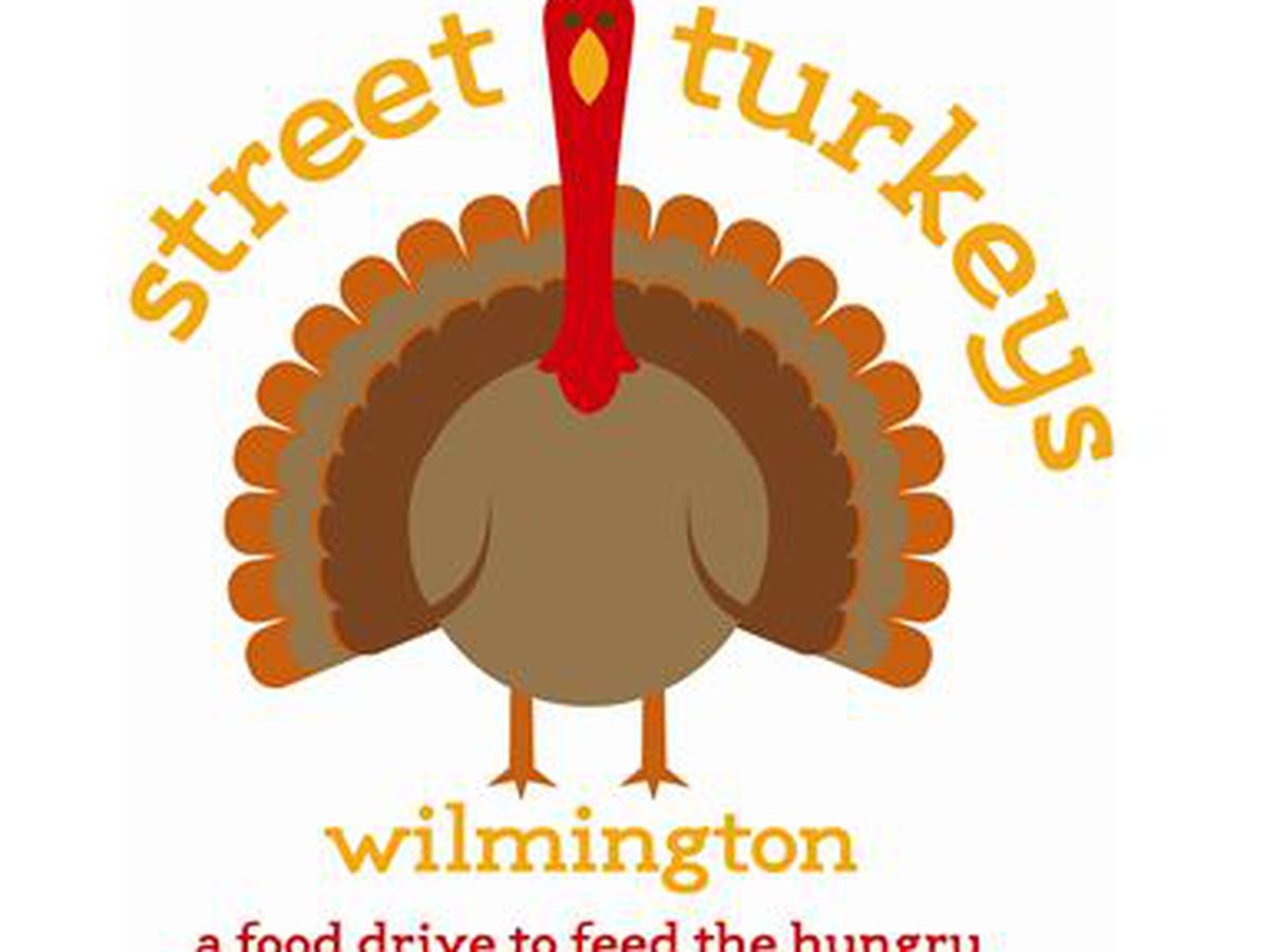 Street Turkeys of Wilmington event taking place today