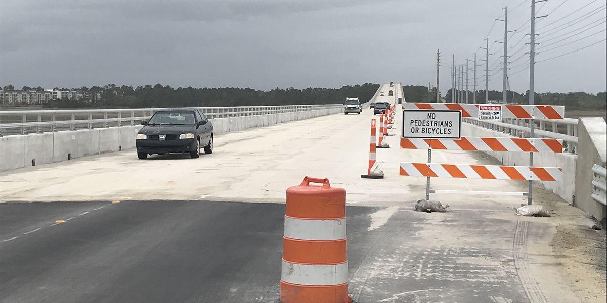 Oak Island bridge reopens three days ahead of schedule