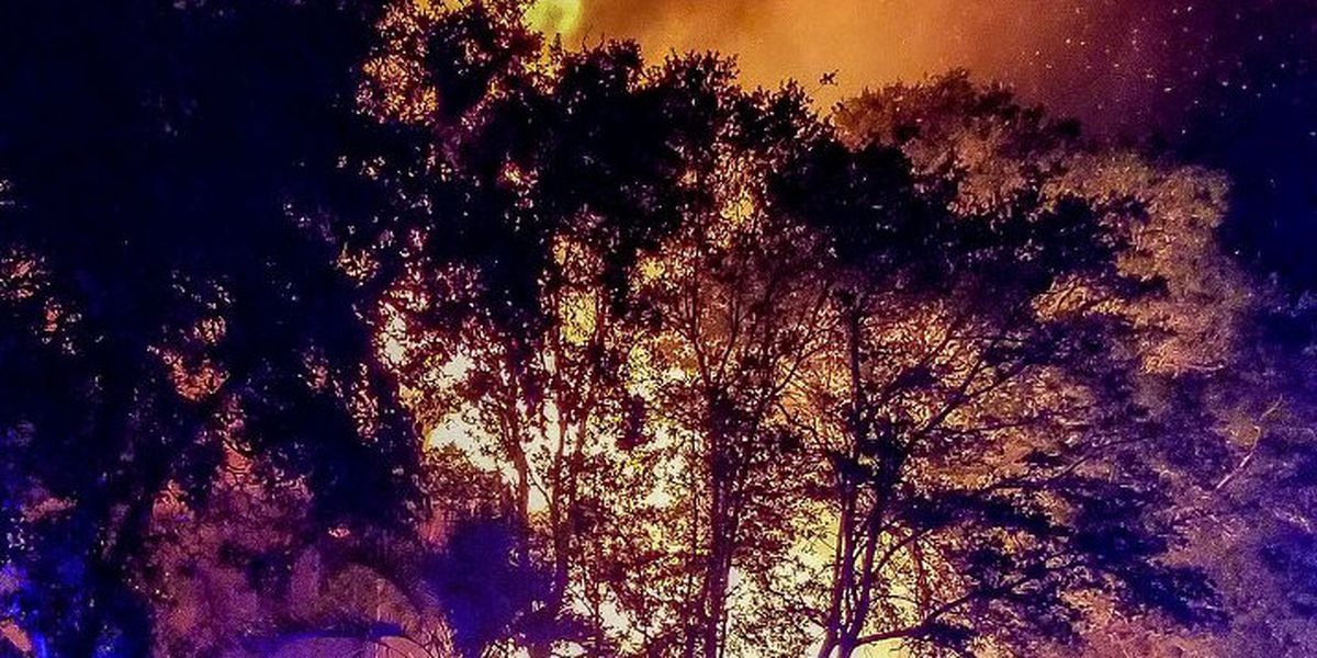 Family displaced after weekend fire destroys Oak Island home
