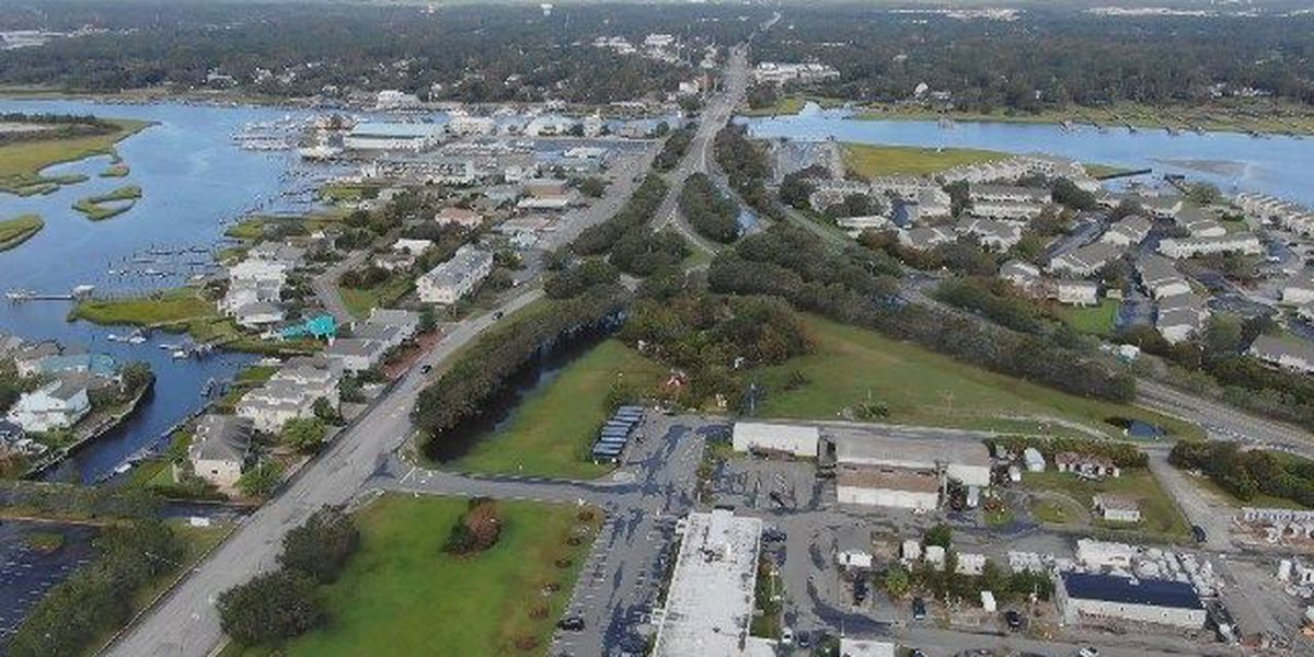 SKY TRACKER: A look at Florence damage over Wrightsville Beach