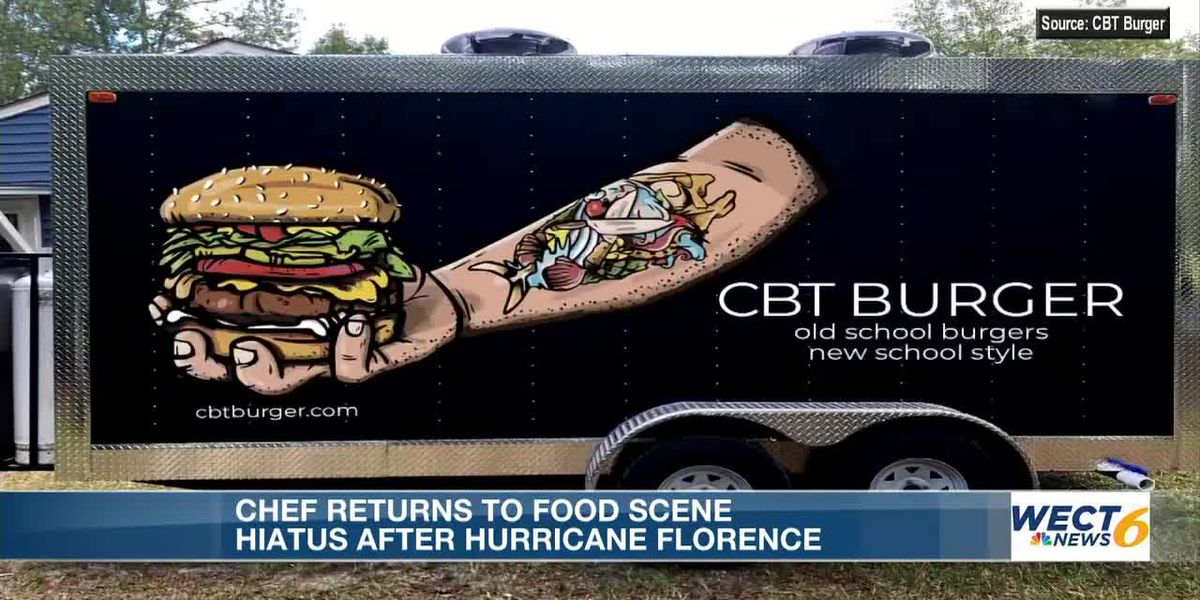Chef Bud Taylor returns to food scene after hiatus following Hurricane Florence