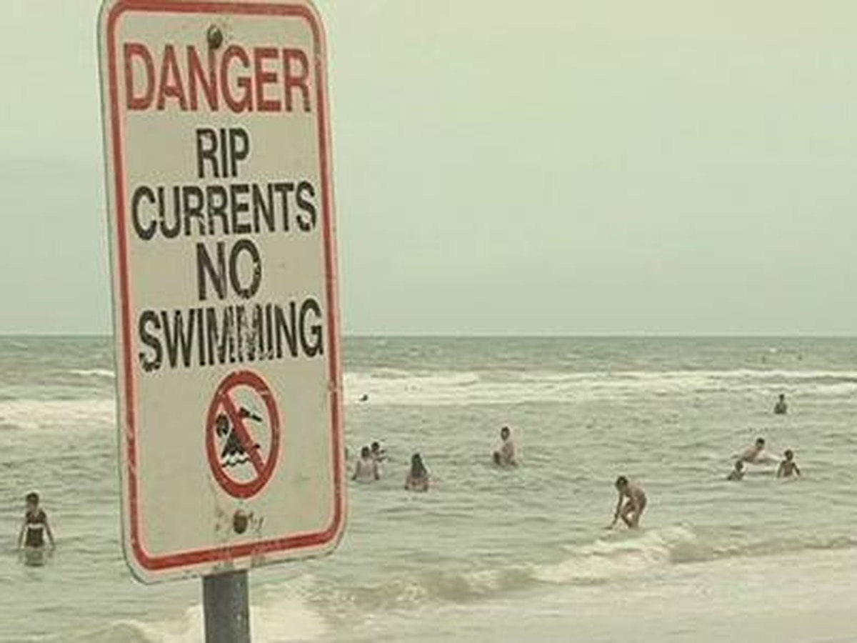 National Weather Service issues red flag warning for rip currents