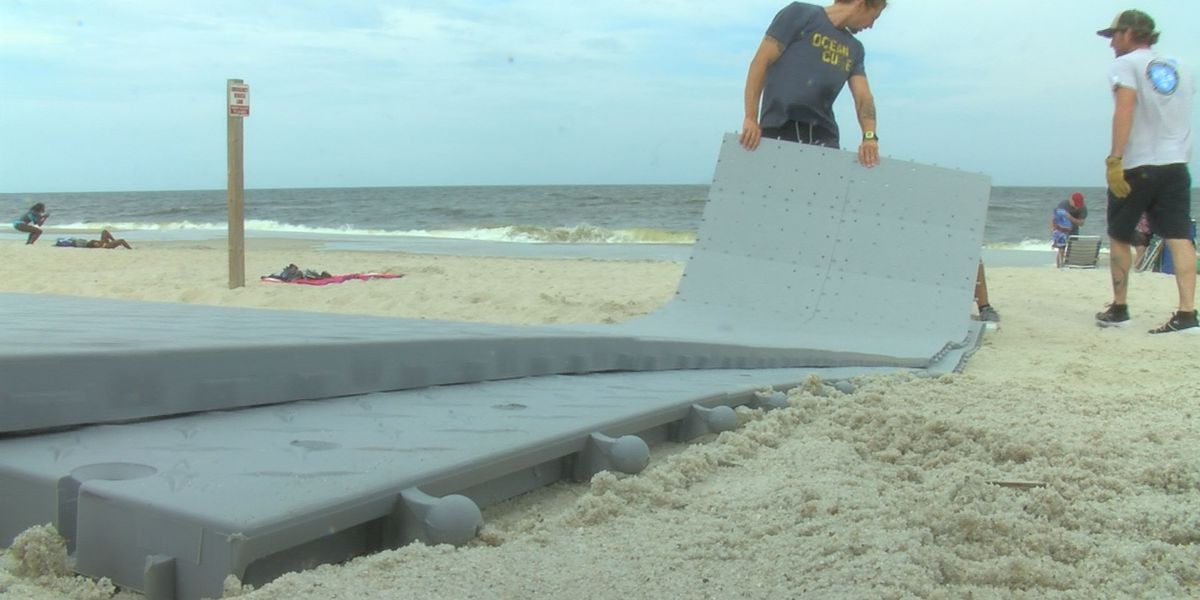 Coastal Resources Commission approves wheelchair accessible mats on the sand in Carolina Beach