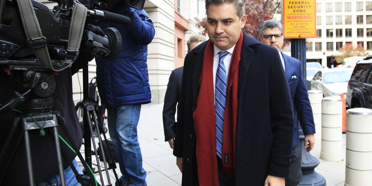 Trump administration defends its case against CNN's Acosta