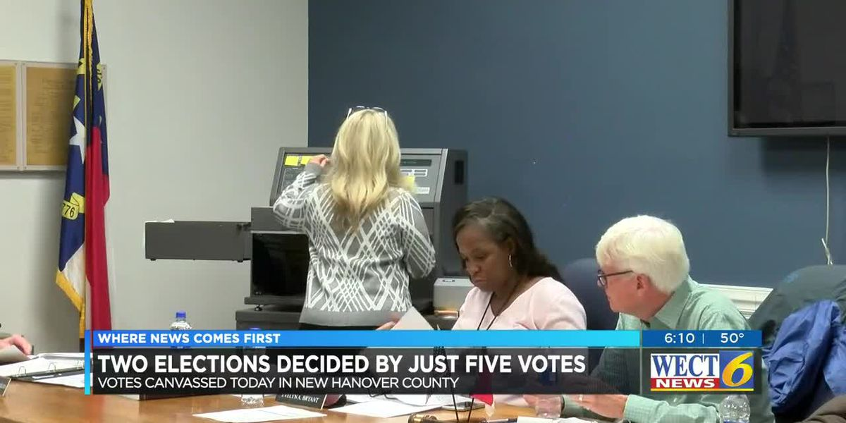 Results hold in tight NHC races after vote canvass, recounts possible for several seats