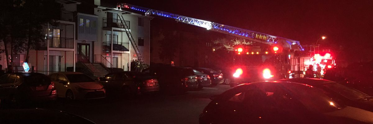 WFD rules apartment fire smoking-related
