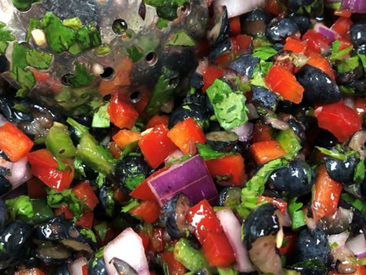 Highway 6: Why not try blueberry bell pepper salsa?