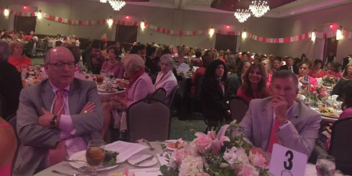 Hundreds attend 18th annual Pink Ribbon luncheon