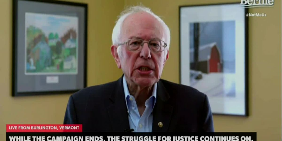 Bernie Sanders: Our campaign ends, our movement does not