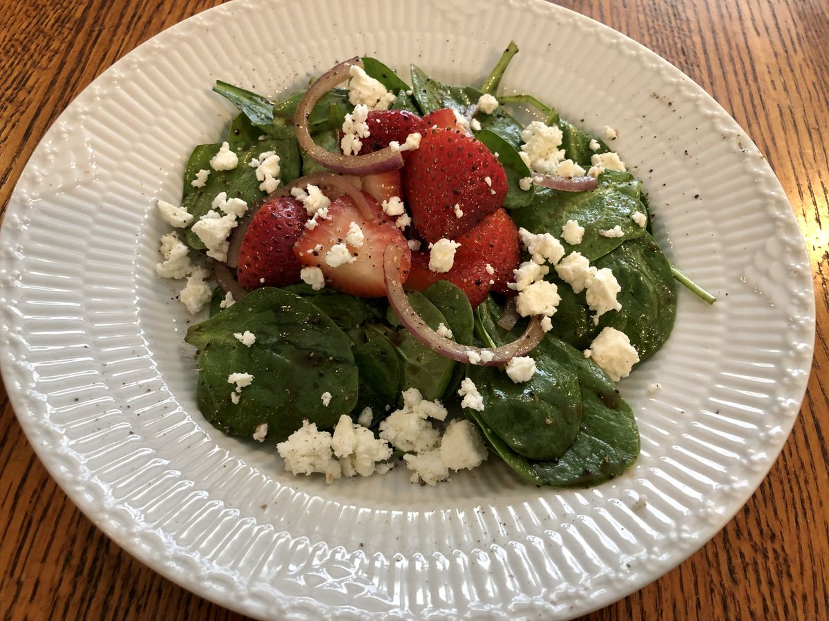First at Four recipe: Strawberry Spinach Salad