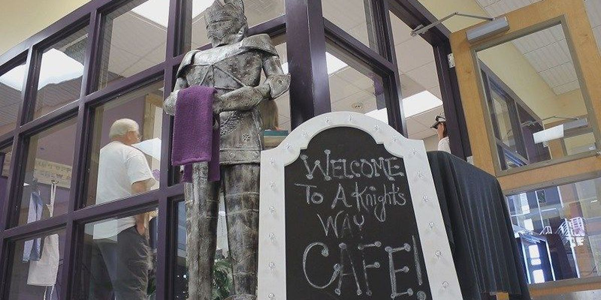 A Knight's Way Cafe: West Bladen HS opens cafe where special needs students can work