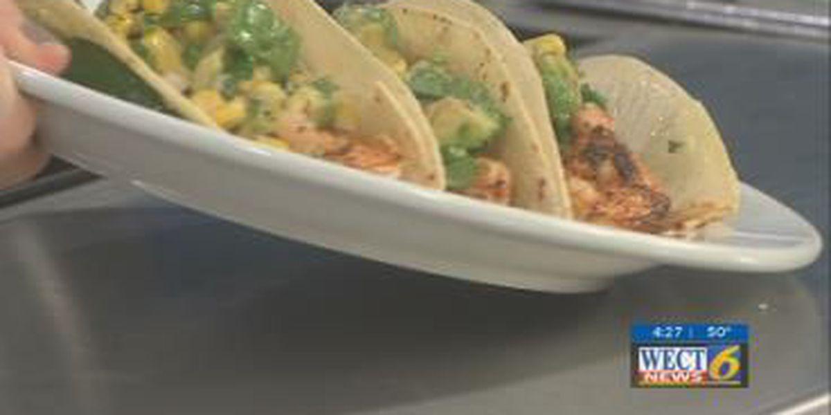 First at Four recipe: Cajun shrimp tacos