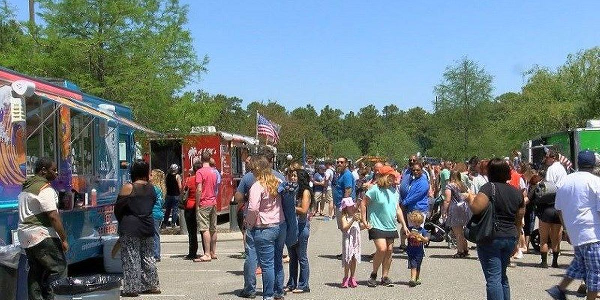 Park damaged by Hurricane Florence ready for Food Truck Rodeo this weekend