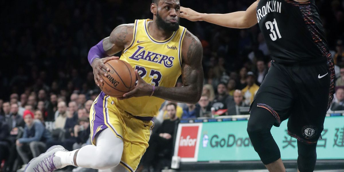 Nets hold off Lakers to extend winning streak to 6 games