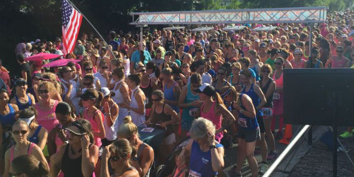 Wilma Dash attracts close to 1,000 female runners