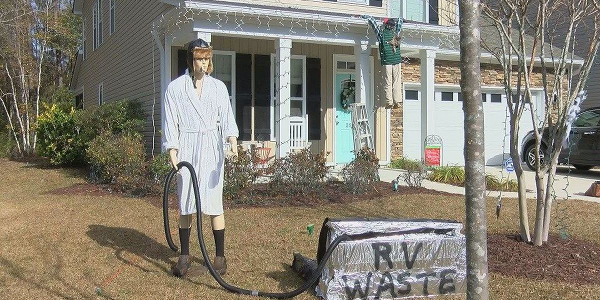 "Man re-creates iconic ""Griswold"" Christmas disaster"