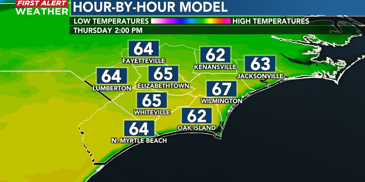 First Alert Forecast: more sun and warmth Thursday, changes to end the week