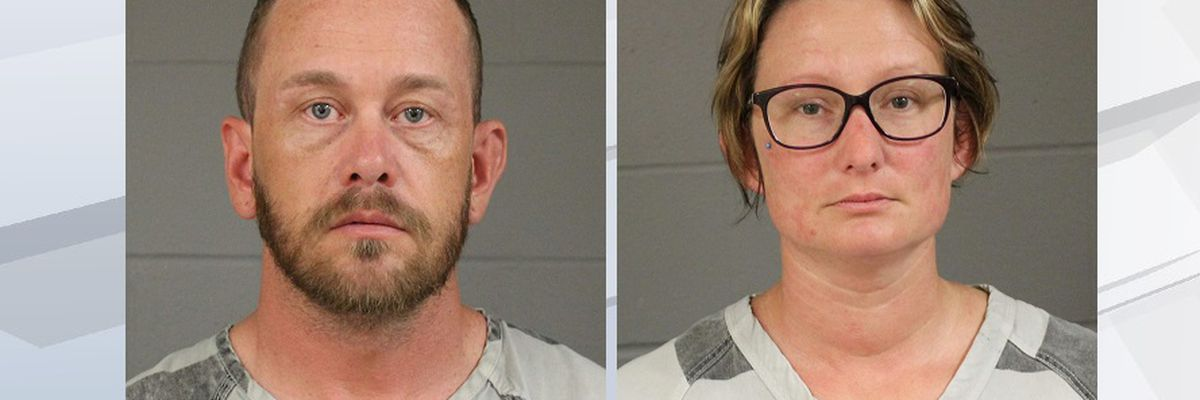 South Dakota couple accused of drugging children, shocking them with cattle prod