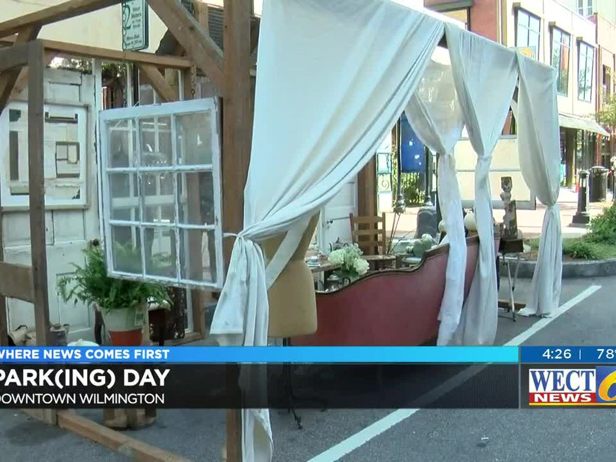 Keep moving, cars! Park(ing) day redesigned parking spaces to advocate for more public parks