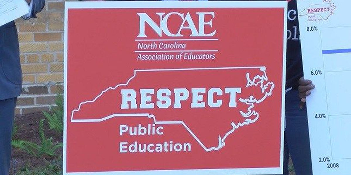 Teachers head to Raleigh for Rally for Respect