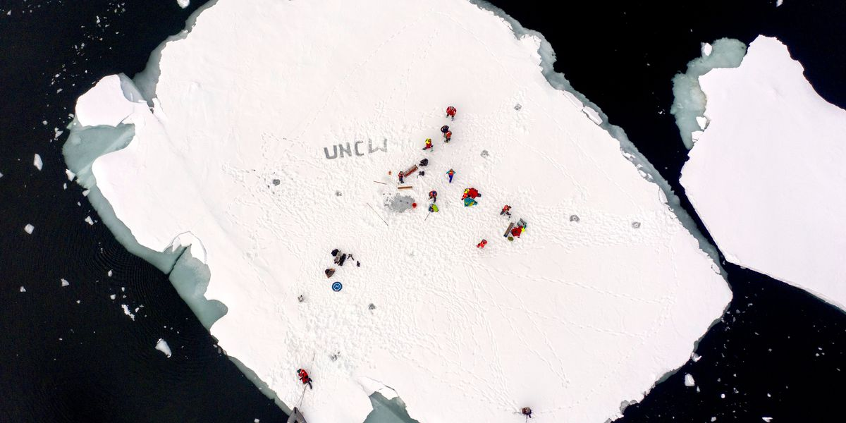 UNCW research team returns from Arctic expedition