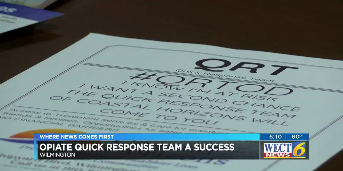 Officials receive update on opioid quick response team