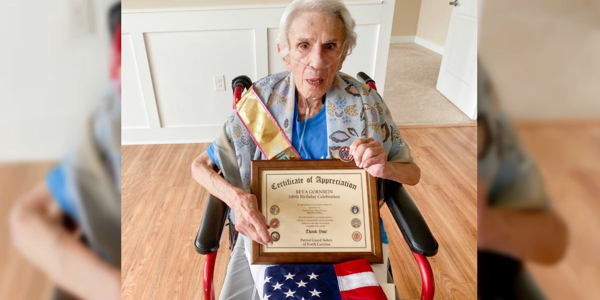 'This lady has lived a heck of a life': Wilmington WWII vet celebrates her 100th birthday