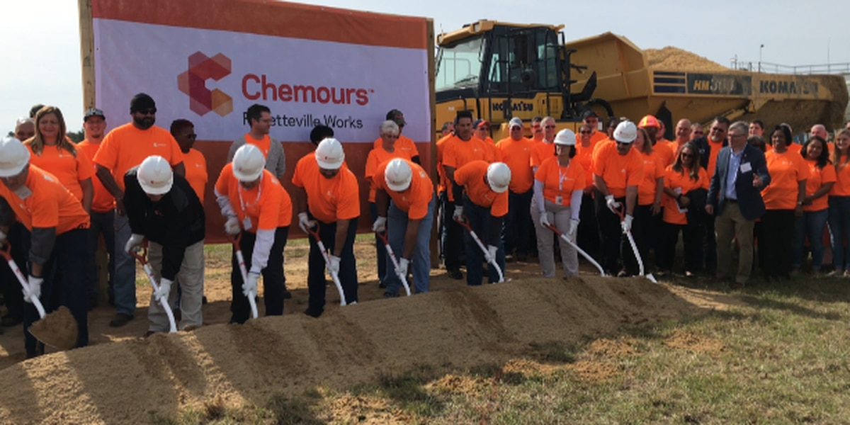Cleaning up its act: Chemours breaks ground on $100 million plant to reduce emissions