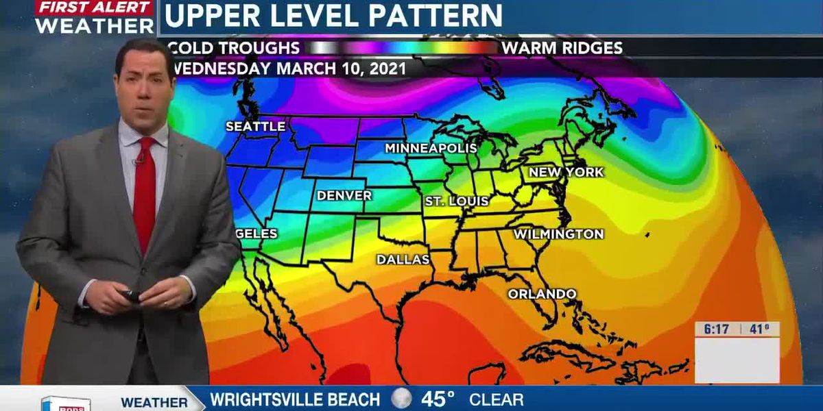 Your First Alert Forecast from early Wednesday, Mar. 4, 2021