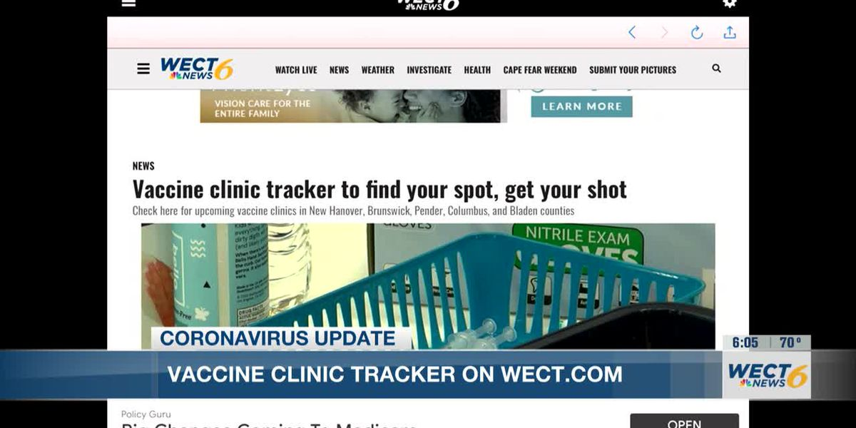 People 12 and up can get COVID-19 vaccines in New Hanover, Brunswick Counties