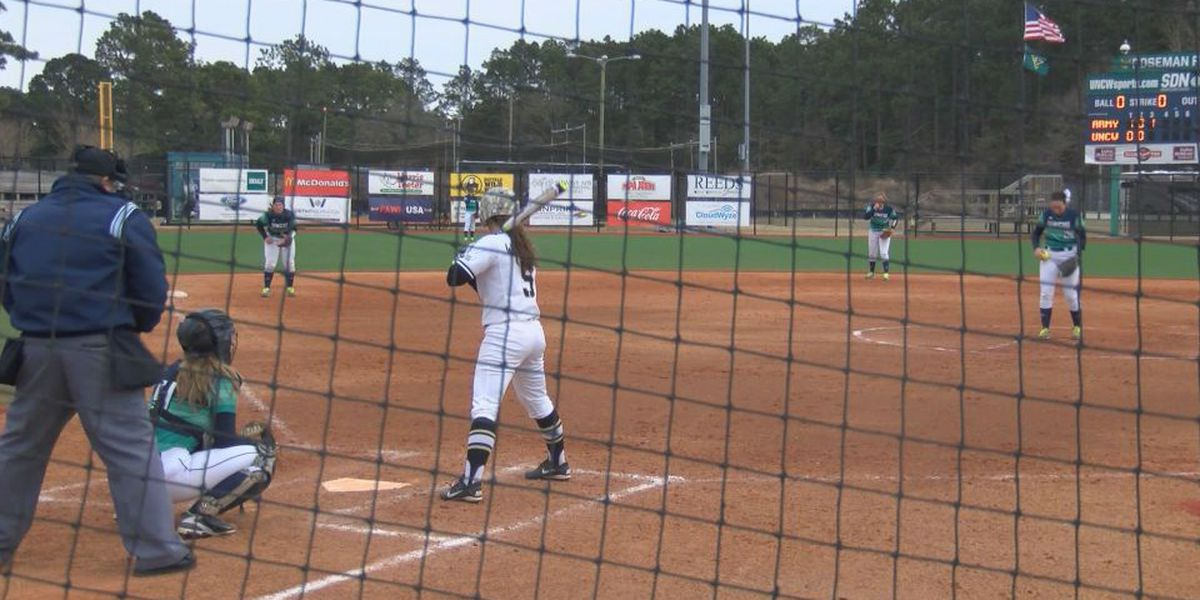 UNCW softball drops weekend finale to Army
