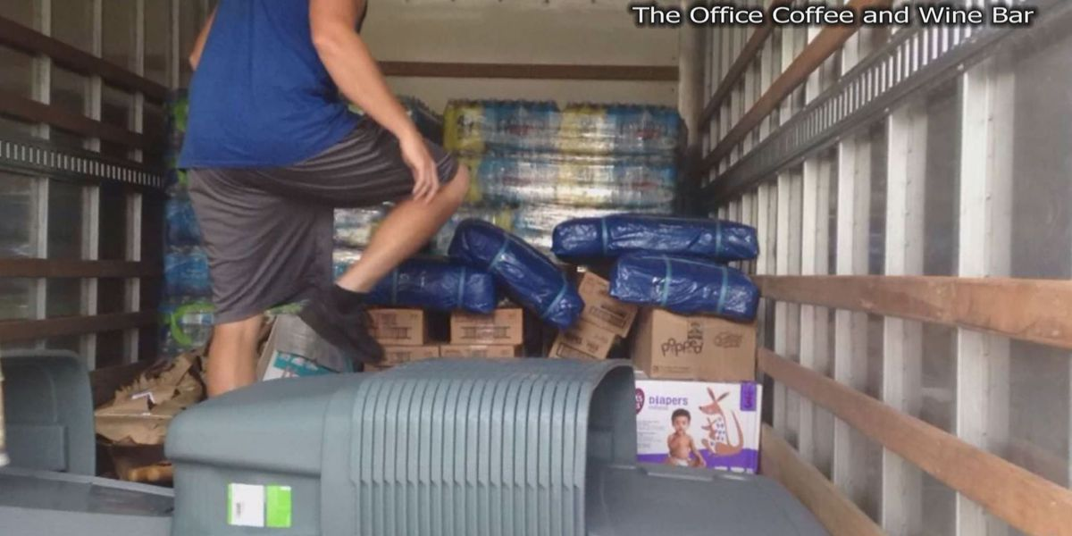 NC business turns into makeshift supply pickup site