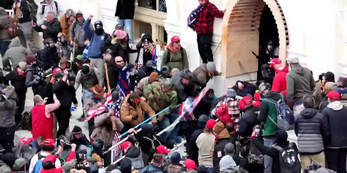 Federal agents make two more Capitol riot-related arrests in North Carolina