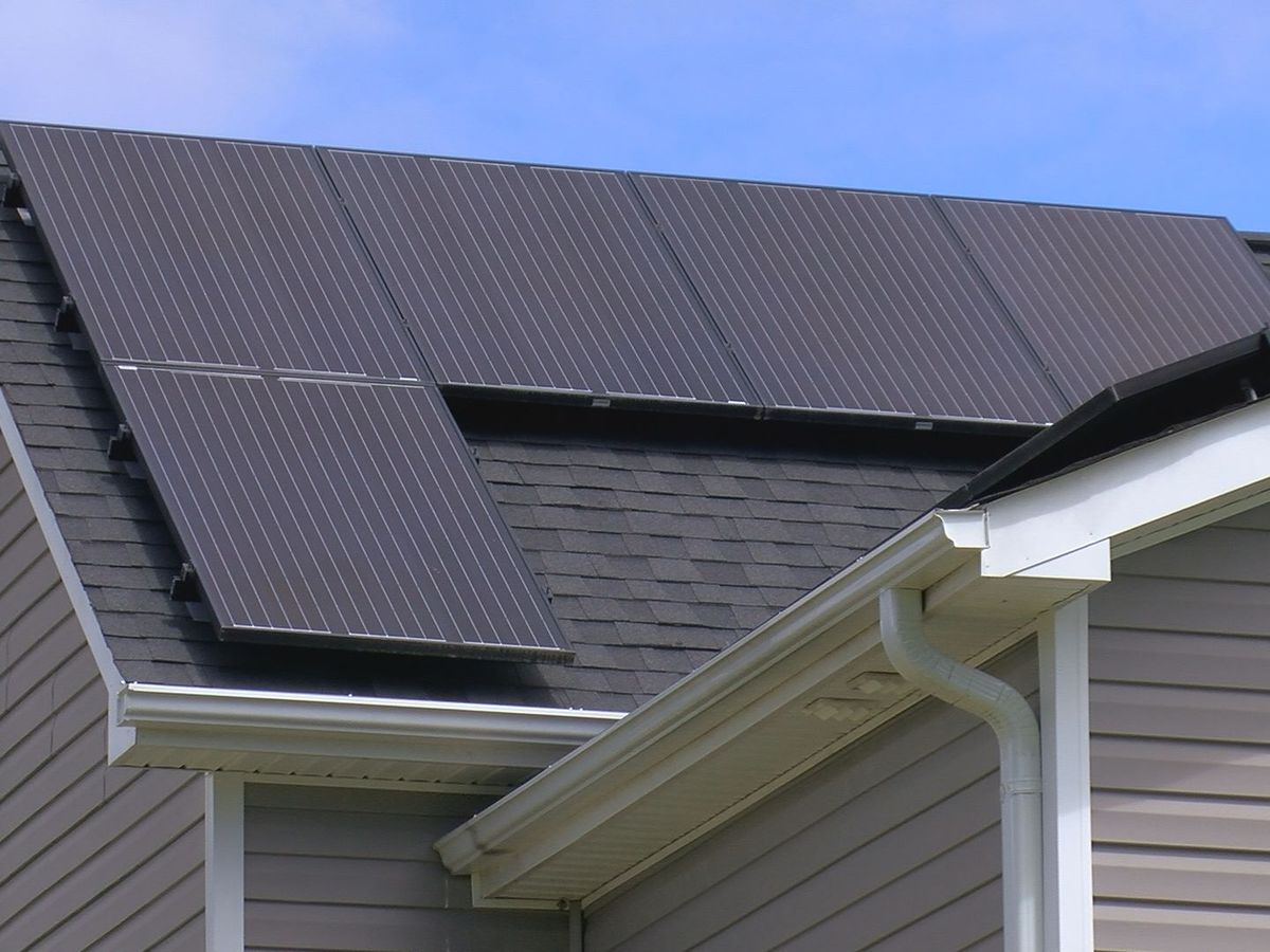 Harnessing the power of the sun, homeowners beam when talking about solar panels