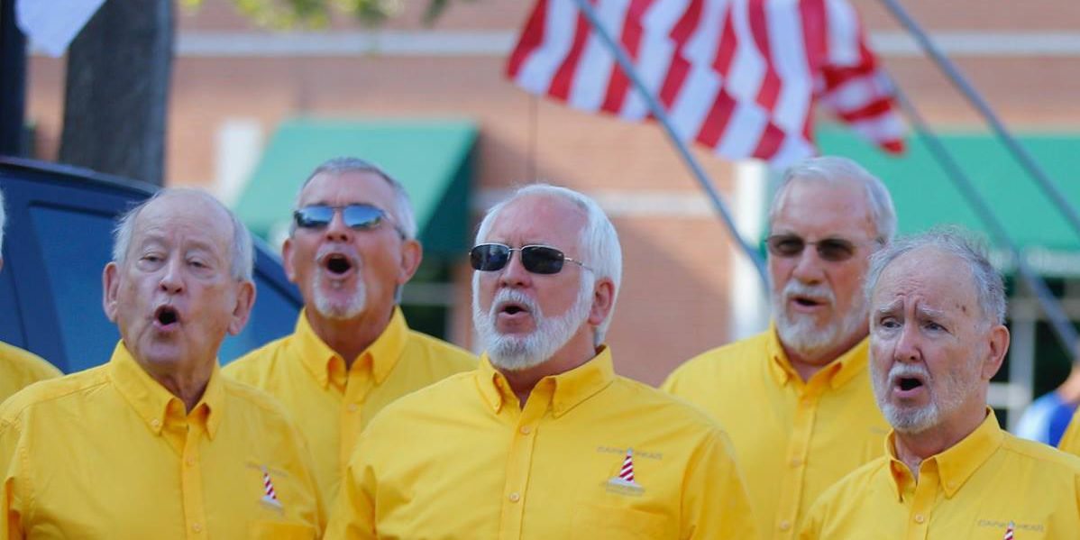Cape Fear Chordsman will sing for your sweetie this Valentine's Day