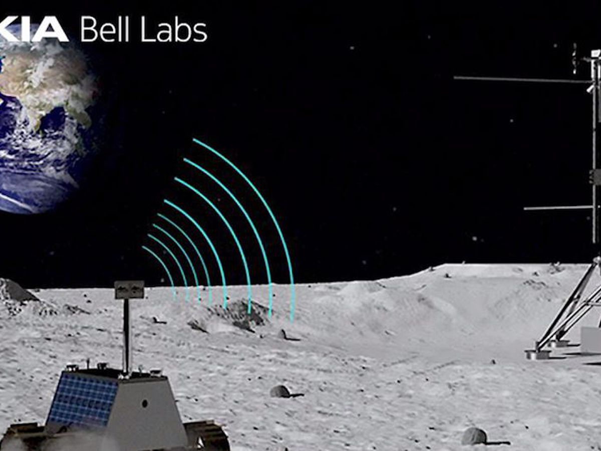 NASA, Nokia putting 4G network on the moon