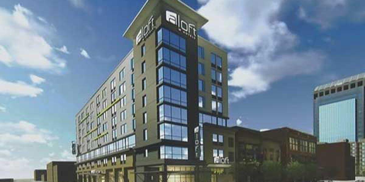 Groundbreaking ceremony held for new downtown Wilmington hotel